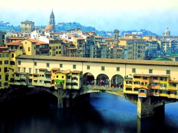 The charming Ponte Vecchio