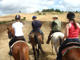 Horseback excursions in Tuscany