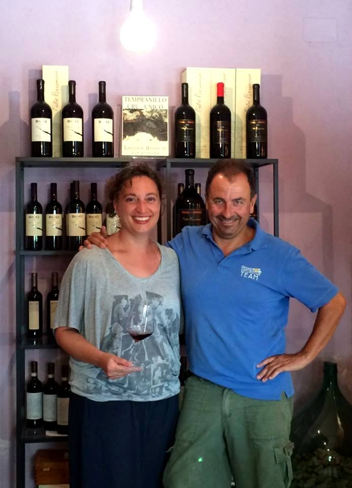 Eva and Leonardo, Tuscan winemakers