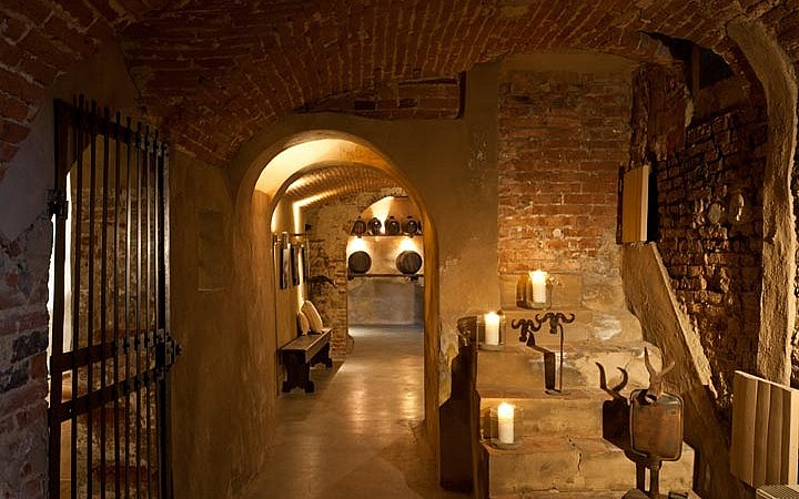 Old Tuscan cellar
