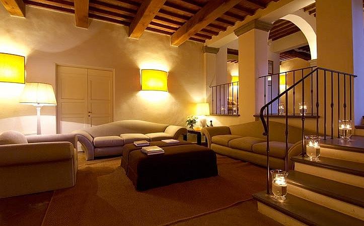 Lounge of a medicean villa