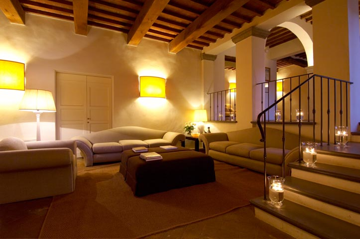 Lounge of a medicean villa