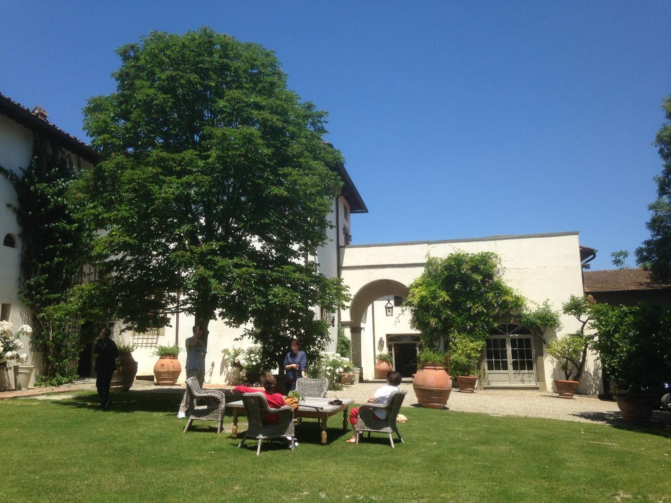 Historical villa as a winery