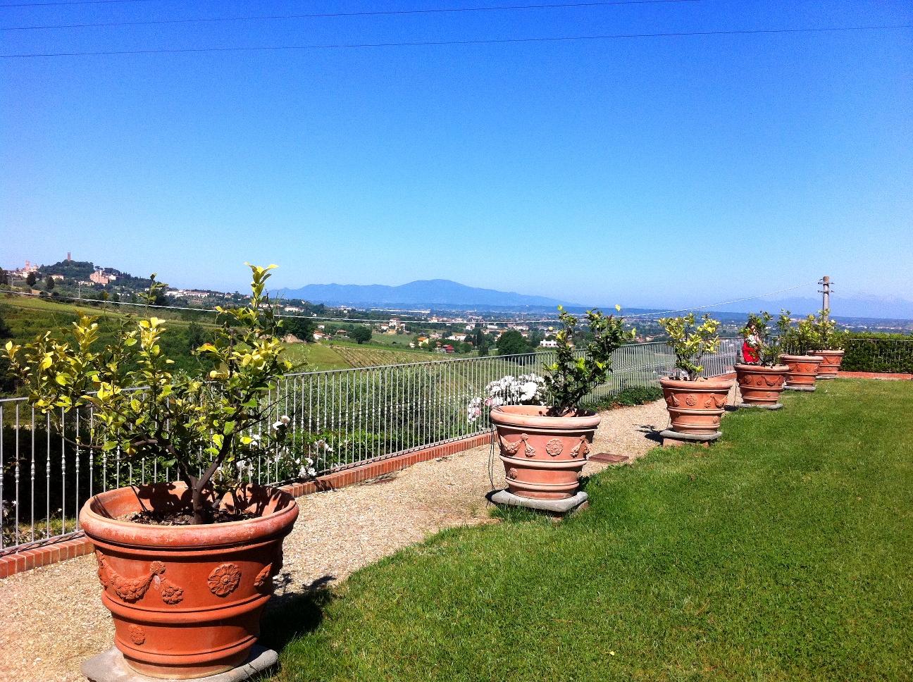 A terrace over San Miniato