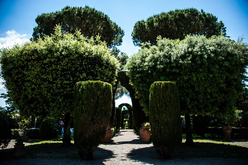 Italian historical garden