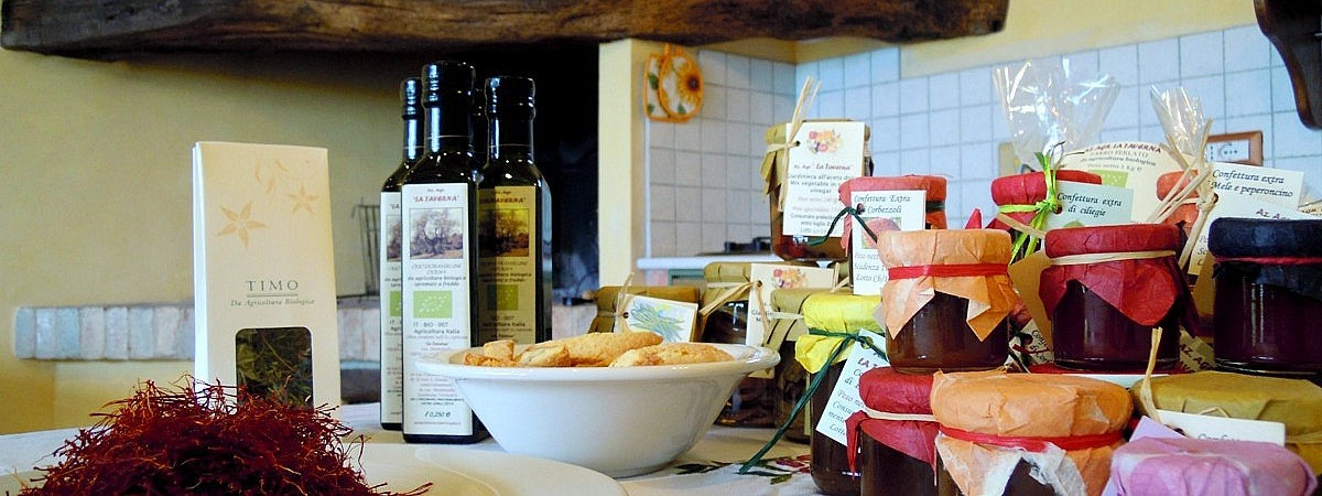 Organic Tuscan products