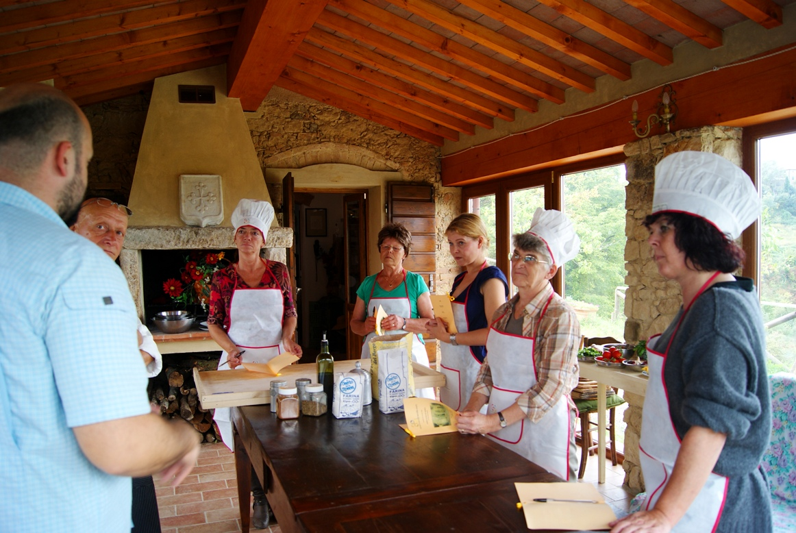 Introductory speech at the pizza making class