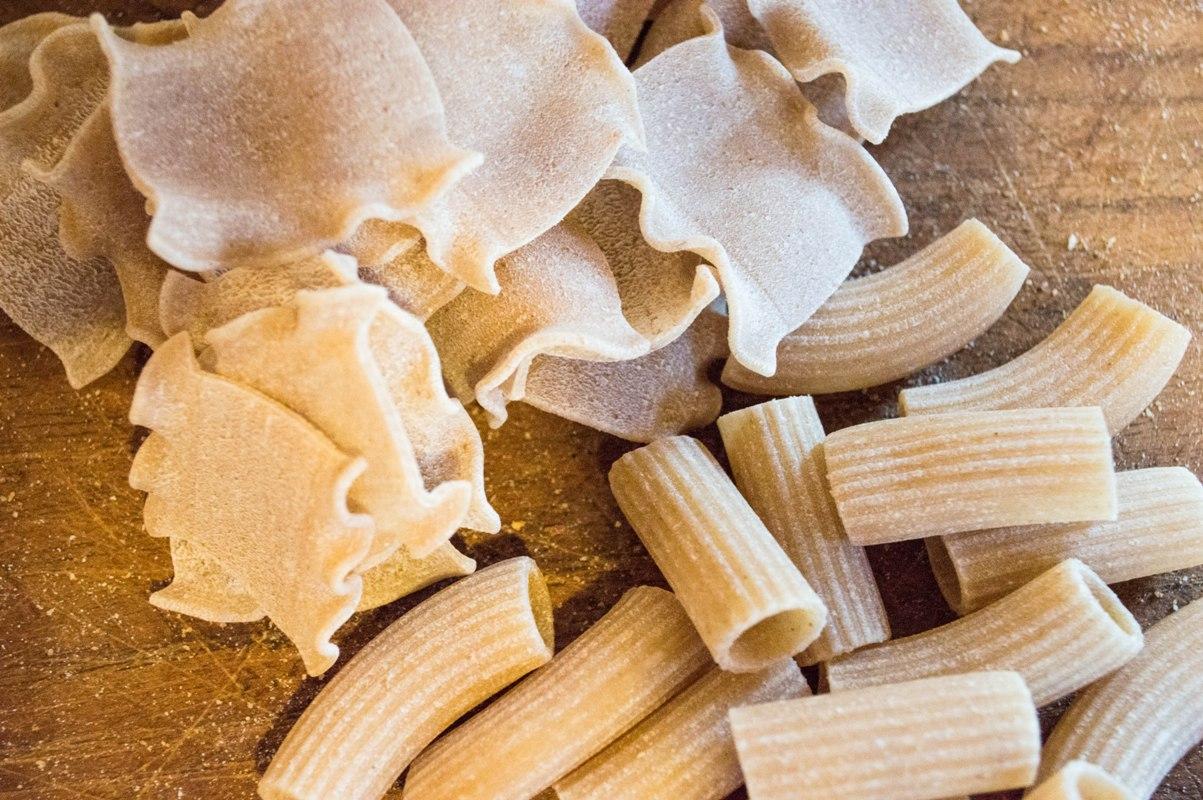 Organic pasta from Tuscany