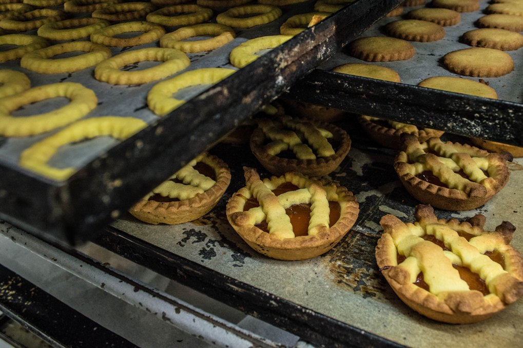 Crostatine and pastry rings