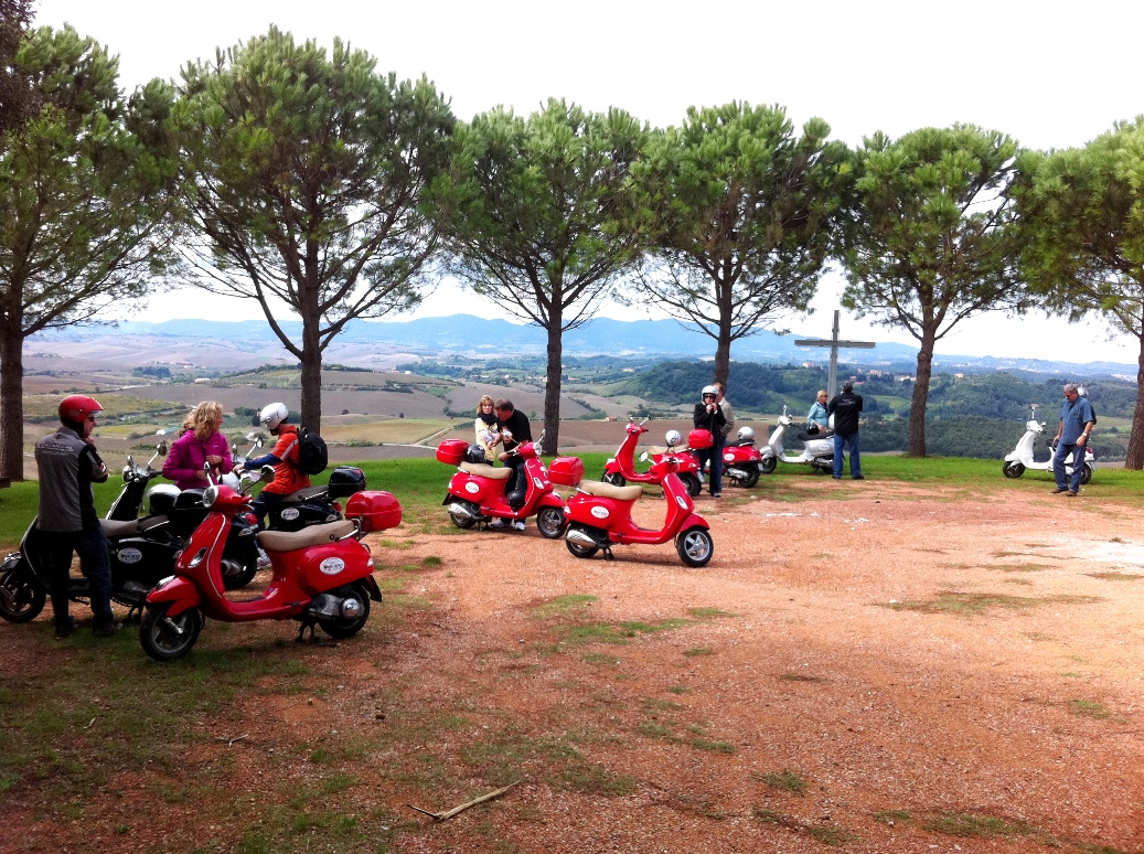 Panoramic viewpoints on Vespa