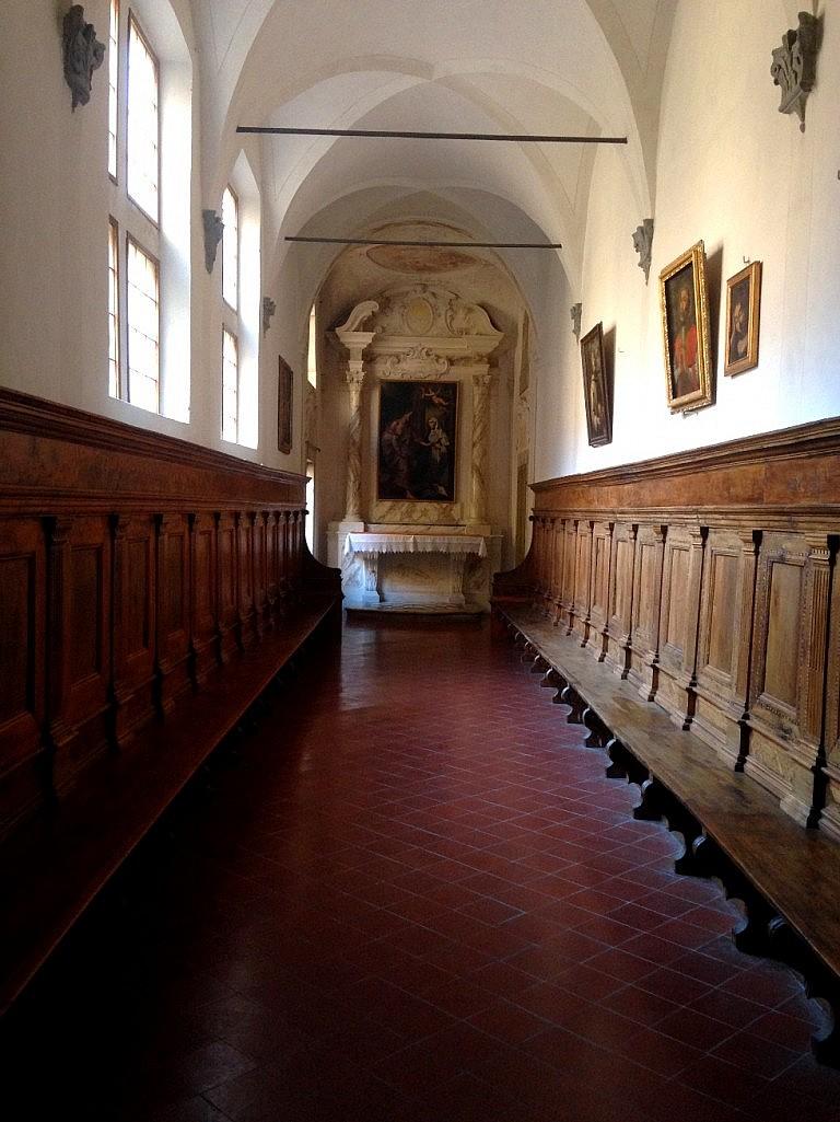 Interiors of Certosa di Calci