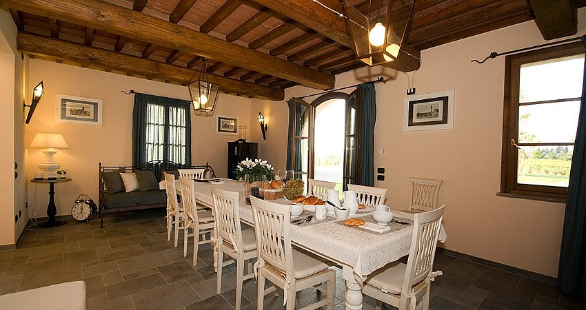 Dining room in your country cottage