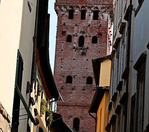 The famous Torre Guinigi in Lucca
