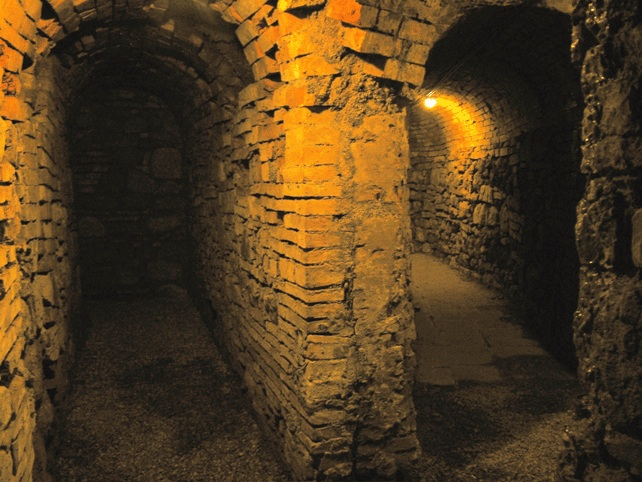 The mining museum near Volterra