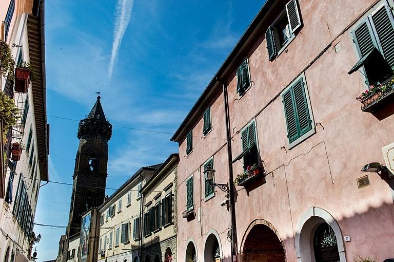 Corso Matteotti in Peccioli