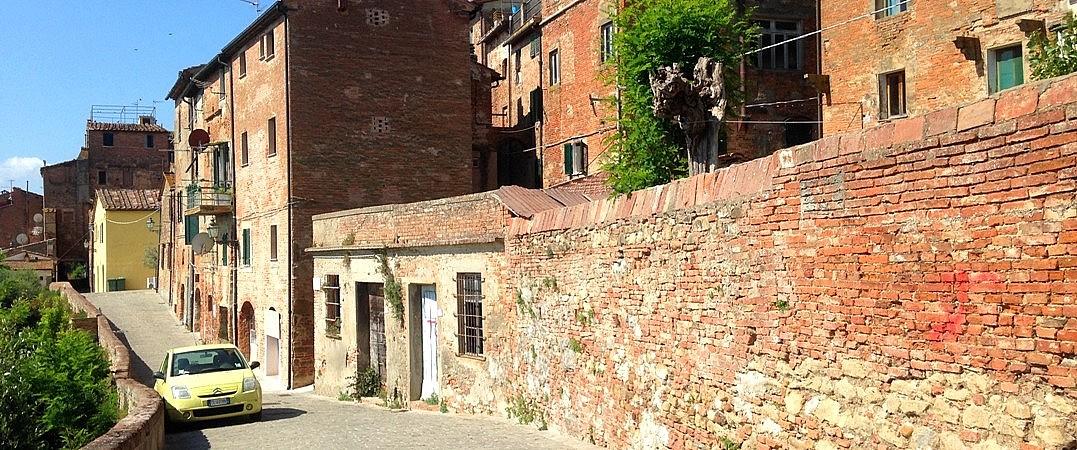 Via Bastioni in Peccioli, Tuscany