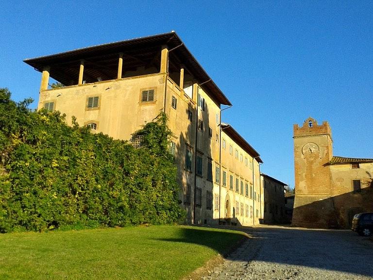 Villasaletta near Pisa, a small agricultural village