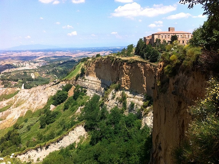 The Balze in Volterra