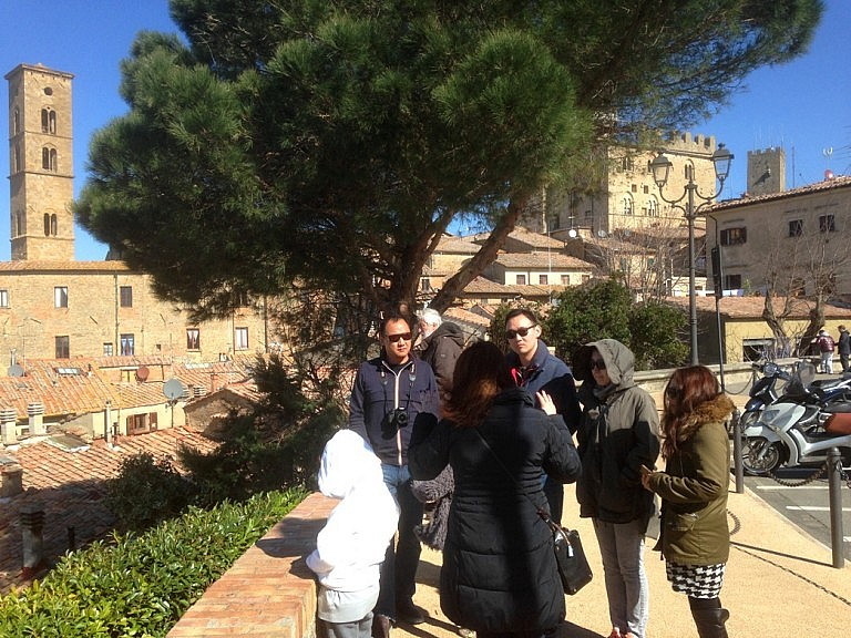 Volterra guided tours by Moira