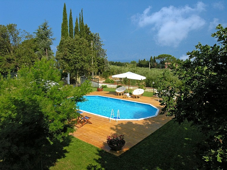 Cottage with private pool with view over Pisa