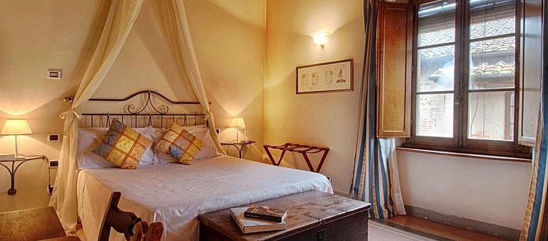 Simple but elegant bedroom