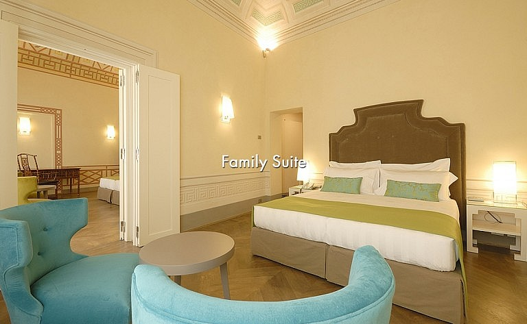 Luxury family suite in Renaissance villa by Florence