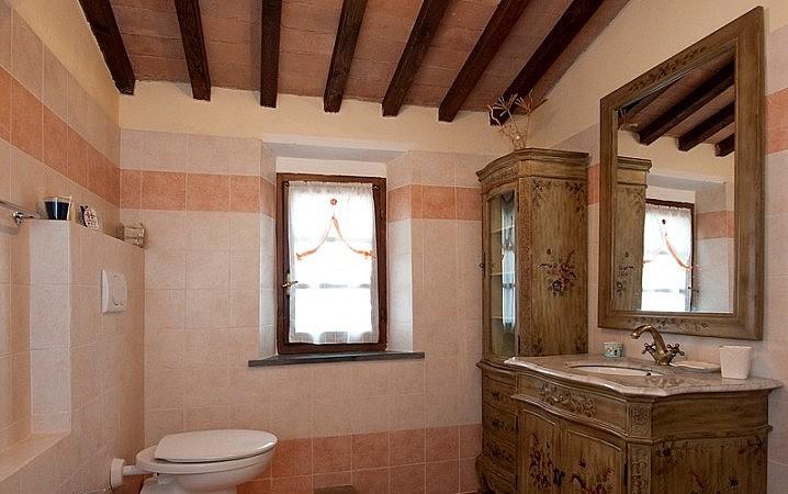 Antique in bathroom