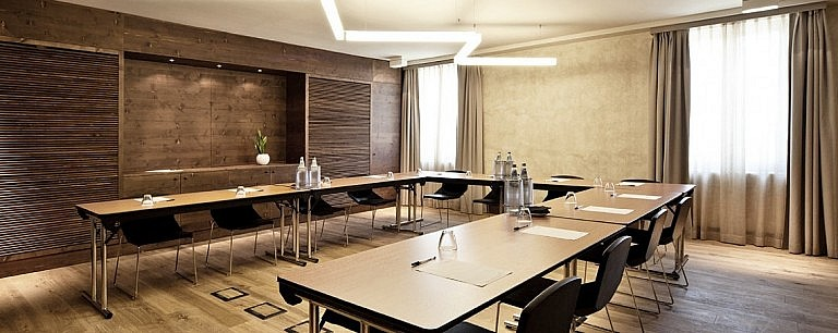 Conference room in small hotel de charme