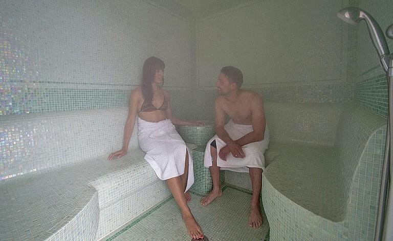 Hammam in wellness center of country resort