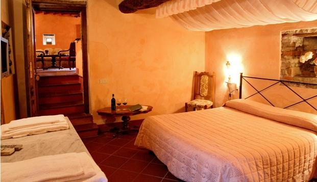 Accommodation at a chianti winery