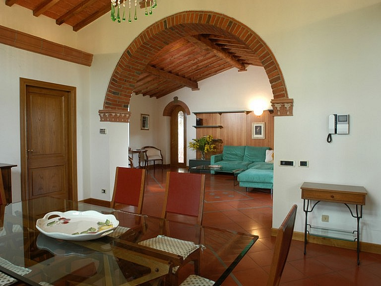 Roomy apartments in mini country resort in Tuscany