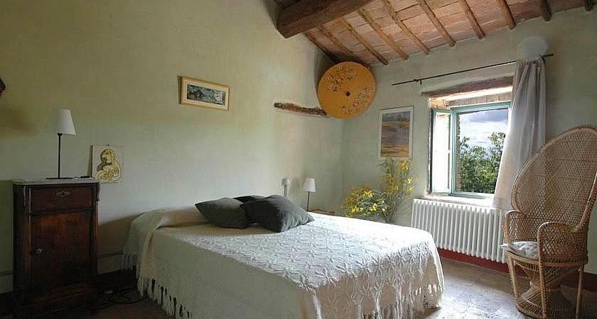 Rustic double bedroom