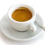 The real size of an Italian espresso
