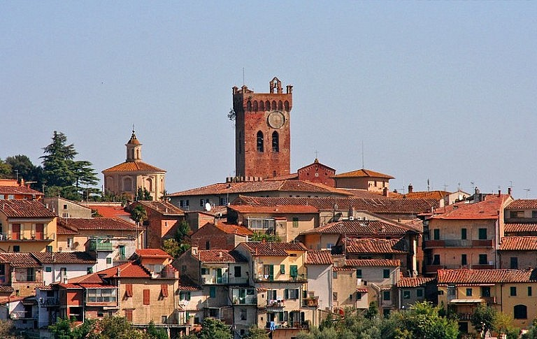 Skyline of San Miniato