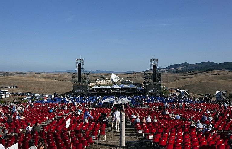 2015 edition of Teatro del Silenzio ready for the show