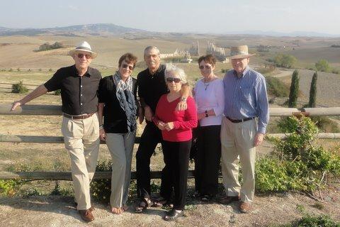 Group picture at Teatro del Silenzio