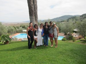 An all girl trip to Tuscany