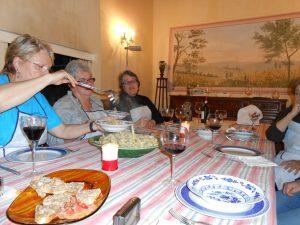 A private cooking class delivered to a villa in the Chianti classico