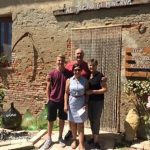 All family at our cooking school in Montefoscoli