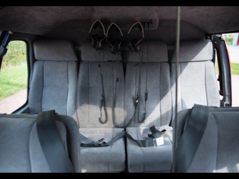 Luxury helicopter interiors