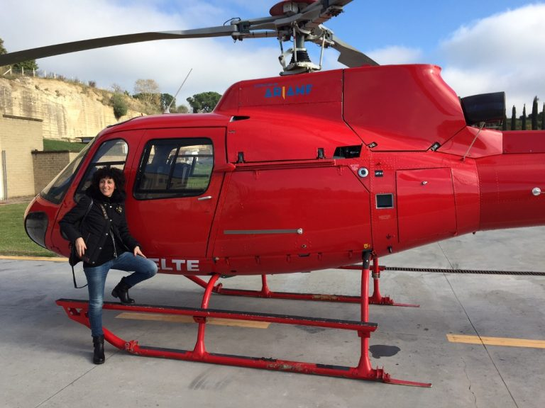 Helicopter taxi from Pisa and Livorno