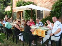 Cooking class the day after the concert of Andrea Bocelli in Lajatico