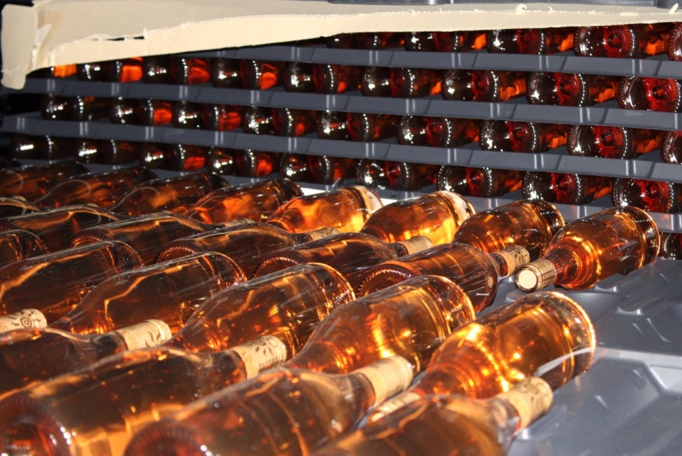 Rosee wines at the winery of our cooking school