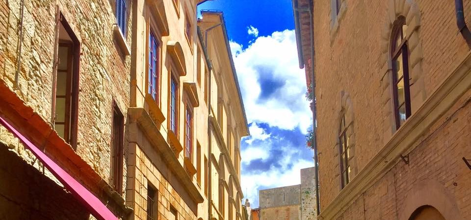 Lovely street of Volterra