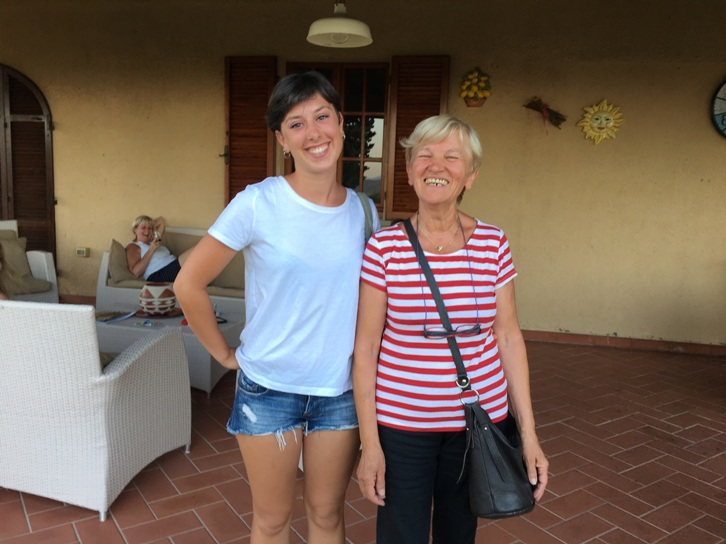 Private chef service at a villa in Lucca
