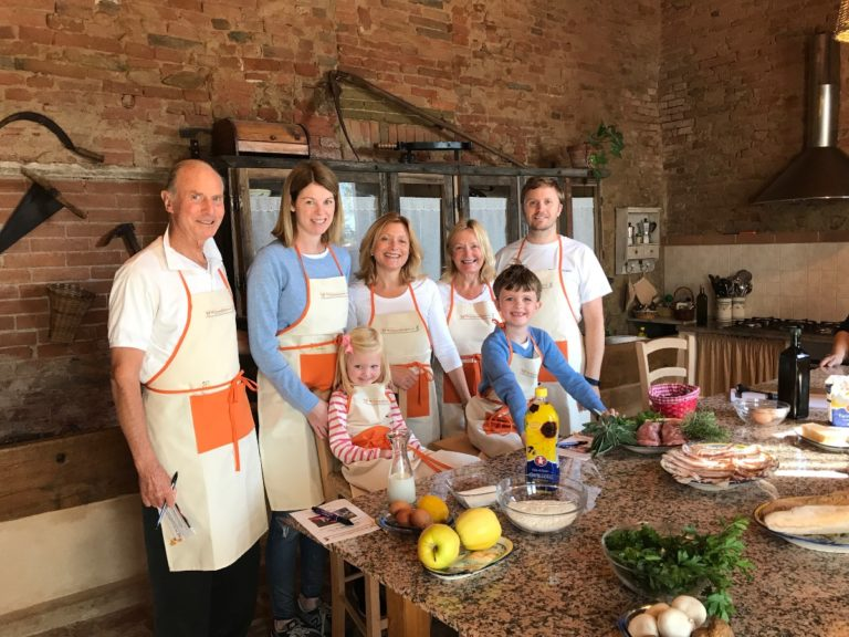 Family picture at our cooking school