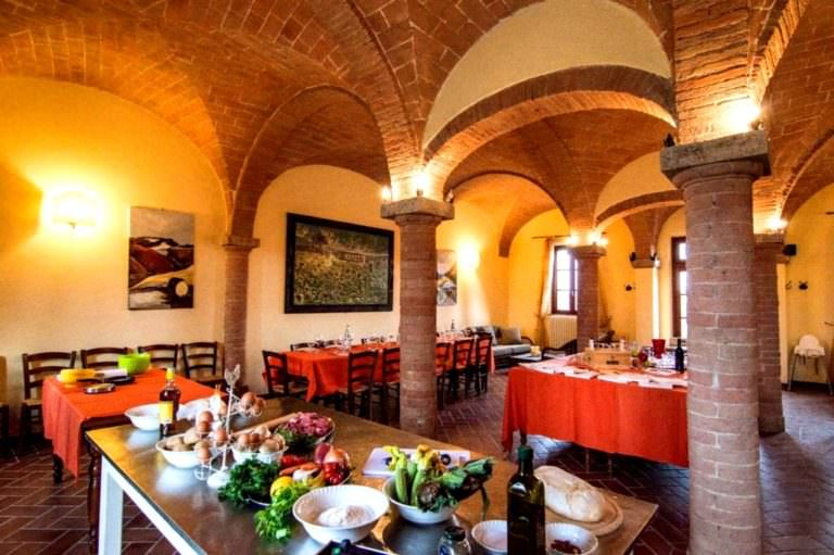 Charming location for group cooking classes