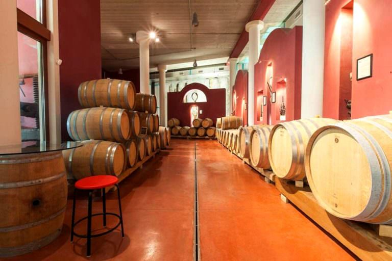 Visiting beautiful wineries in Italy