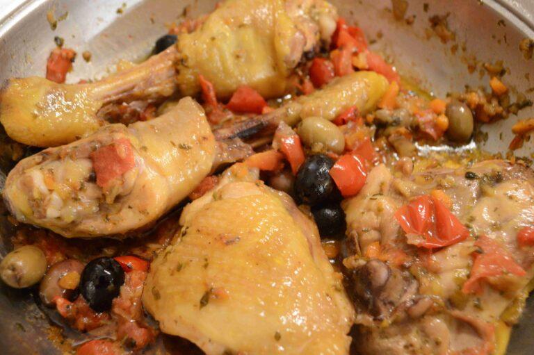 Traditional Pollo alla cacciatora