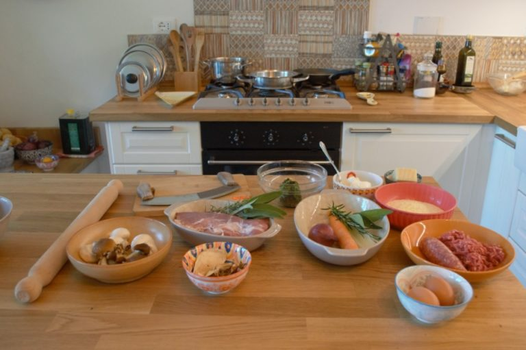 Private live cooking classes on line